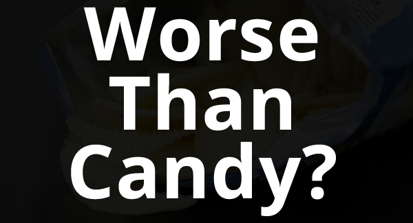 Worse than candy - This Common Snack Food is Worse for Your Teeth Than Candy